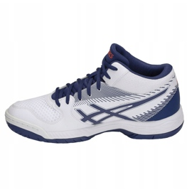 Asics Gel Tas M B703Y-100 volleybalschoenen wit wit 1
