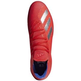 Binnenschoenen adidas X 18.3 In M BB9392 rood rood 1