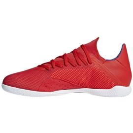 Binnenschoenen adidas X 18.3 In M BB9392 rood rood 2
