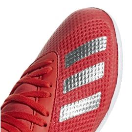 Binnenschoenen adidas X 18.3 In Jr BB9396 rood rood 3