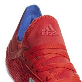 Binnenschoenen adidas X 18.3 In Jr BB9396 rood rood 4