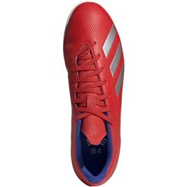 Binnenschoenen adidas X 18.4 In M BB9406 rood rood 1