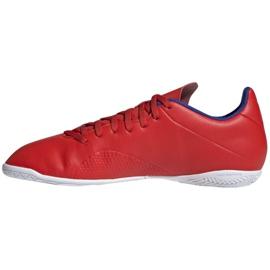Binnenschoenen adidas X 18.4 In M BB9406 rood rood 2