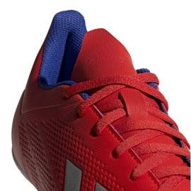Binnenschoenen adidas X 18.4 In M BB9406 rood rood 3