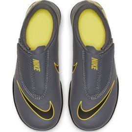 Indoor schoenen Nike Mercurial Vapor 12 Club PS (V) Ic Jr AH7356-070 grijs / zilver grijs 2