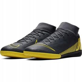 Binnenschoenen Nike Mercurial Superfly 6 Academy Ic M AH7369-070 grijs grijs / zilver 4