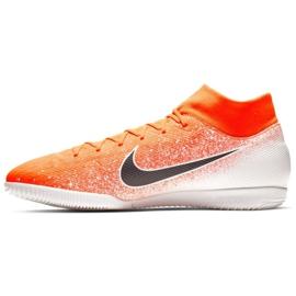 Binnenschoenen Nike Merurial Superflyx 6 Academy Ic M AH7369-801 oranje wit, oranje 1