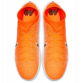 Binnenschoenen Nike Merurial Superflyx 6 Academy Ic M AH7369-801 oranje wit, oranje 2