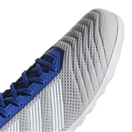 Binnenschoenen adidas Predator 19.3 In M D97963 grijs blauw, grijs / zilver 3