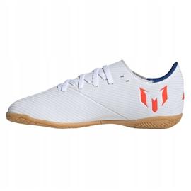 Binnenschoenen adidas Nemeziz Messi 19.4 In Jr F99928 wit wit 1
