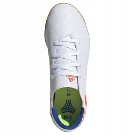 Binnenschoenen adidas Nemeziz Messi 19.4 In Jr F99928 wit wit 2