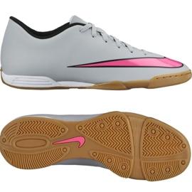 Nike Mercurial Vortex Ii binnenschoenen 651648-060 grijs grijs / zilver 2