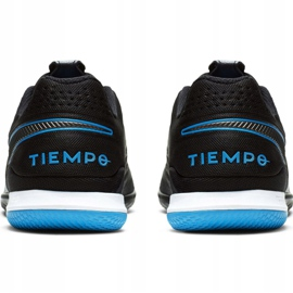 Binnenschoenen Nike Tiempo React Legend 8 Pro Ic M AT6134-004 zwart grijs 4