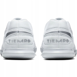 Binnenschoenen Nike Tiempo Legend 8 Club Ic Jr AT5882-100 wit wit 4