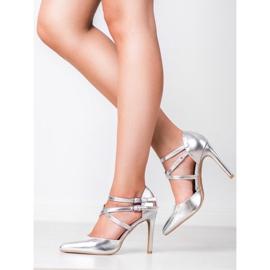 Kylie Shiny Fashion Studs grijs 7