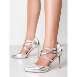 Kylie Shiny Fashion Studs grijs 2
