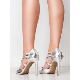 Kylie Shiny Fashion Studs grijs 6