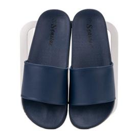 Seastar Navy Slippers blauw 4