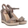 Seastar grijs Grijze Espadrilles sandalen afbeelding 3