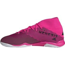 Voetbalschoenen adidas Nemeziz 19.3 In M F34411 roze zwart 1