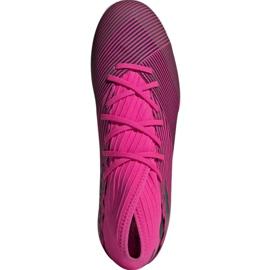 Voetbalschoenen adidas Nemeziz 19.3 In M F34411 roze zwart 2