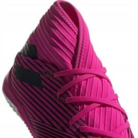 Voetbalschoenen adidas Nemeziz 19.3 In M F34411 roze zwart 3