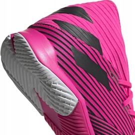 Voetbalschoenen adidas Nemeziz 19.3 In M F34411 roze zwart 4