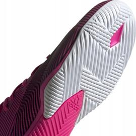 Voetbalschoenen adidas Nemeziz 19.3 In M F34411 roze zwart 5
