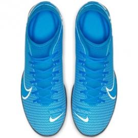 Indoorschoenen Nike Mercurial Superfly 7 Club Ic M AT7979-414 blauw blauw 1