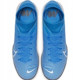 Voetbalschoenen Nike Mercurial Superfly 7 Academy Ic M AT7975 414 blauw 1