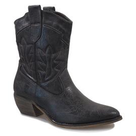 Grijze cowgirl laarzen 10601-1 grijs 1