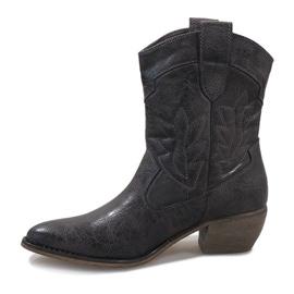 Grijze cowgirl laarzen 10601-1 grijs 2