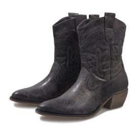 Grijze cowgirl laarzen 10601-1 grijs 3