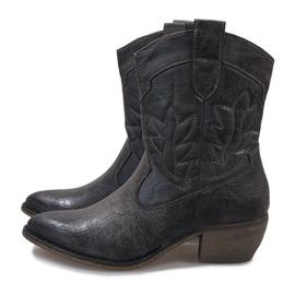 Grijze cowgirl laarzen 10601-1 grijs 4