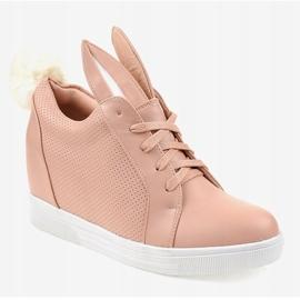 Roze konijnen sneakers H6211-11 1