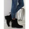 Zwarte damesschoenen 7378-PA Zwart 1