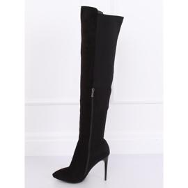 Zwarte dij-hoge laarzen zwart 0H010 zwart 6