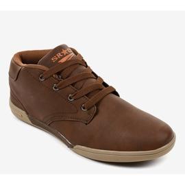Bruine heren sneakers 15M787 1