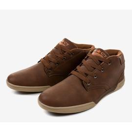 Bruine heren sneakers 15M787 2