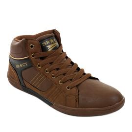 Bruine heren sneakers 15M749 1