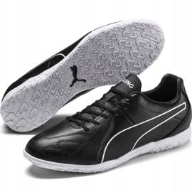 Puma King Hero It M 105673 01 indoorschoenen zwart zwart 3