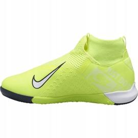 Indoorschoenen Nike Phantom Vsn Academy Df Ic Jr AO3290-717 geel geel 1