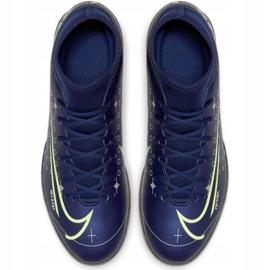 Nike Mercurial Superfly 7 Club Mds Ic Jr BQ5417-401 indoorschoenen marine marineblauw 1