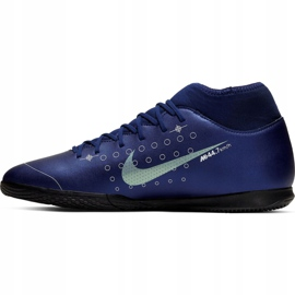 Nike Mercurial Superfly 7 Club Mds Ic Jr BQ5417-401 indoorschoenen marine marineblauw 2