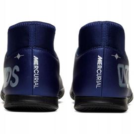 Nike Mercurial Superfly 7 Club Mds Ic Jr BQ5417-401 indoorschoenen marine marineblauw 4