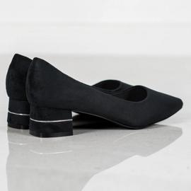 Goodin Pompen Met Decoratieve Riem zwart 2