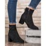 Goodin Laarzen Met Een Decoratieve Slider zwart 4