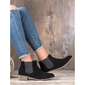 Goodin Leren Jodhpur-laarzen zwart 2