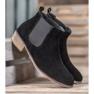 Goodin Leren Jodhpur-laarzen zwart 1