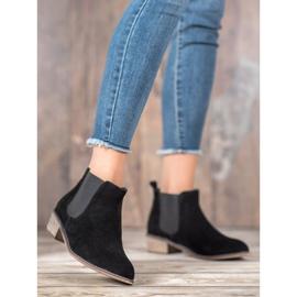 Goodin Leren Jodhpur-laarzen zwart 4